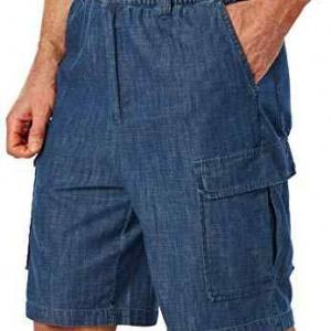Boulder Creek 12″ Denim Cargo Shorts