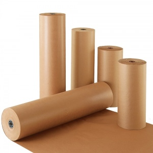 "Shipping Supplies & Packaging Materials 18"" 40 lbs 900′ Brown Kraft Paper Roll Shipping Wrapping Cushioning Void Fill Packaging and Packing Supplies Accessorie"